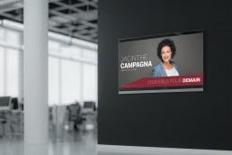 pancarte électorale jacinthe campagna