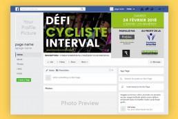 banniere facebook defi cycliste