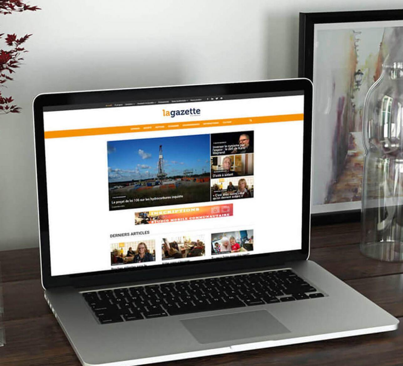 Un nouveau site web pour La Gazette de la Mauricie
